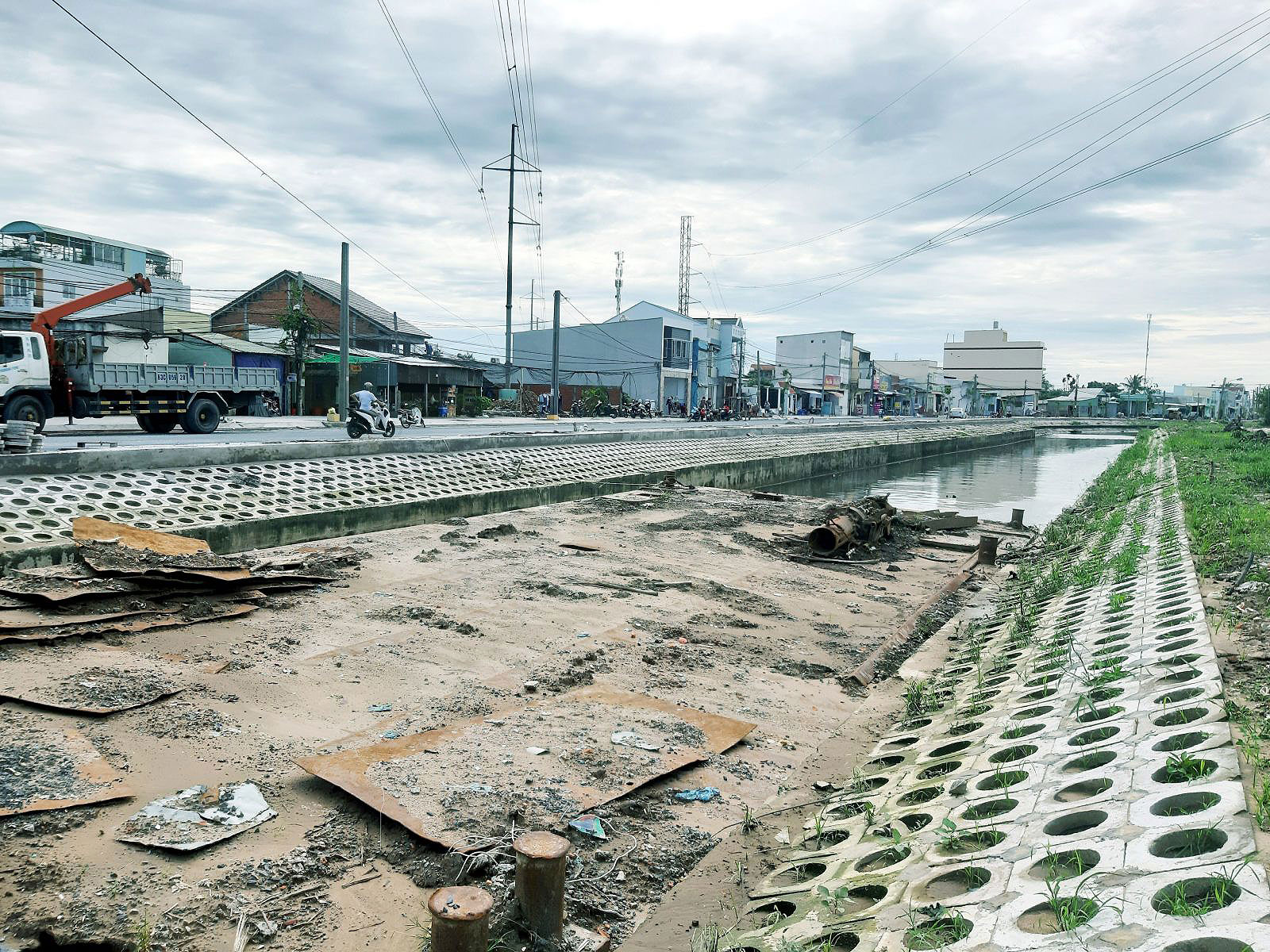 Dự án công trình Hồ Bún Xáng.