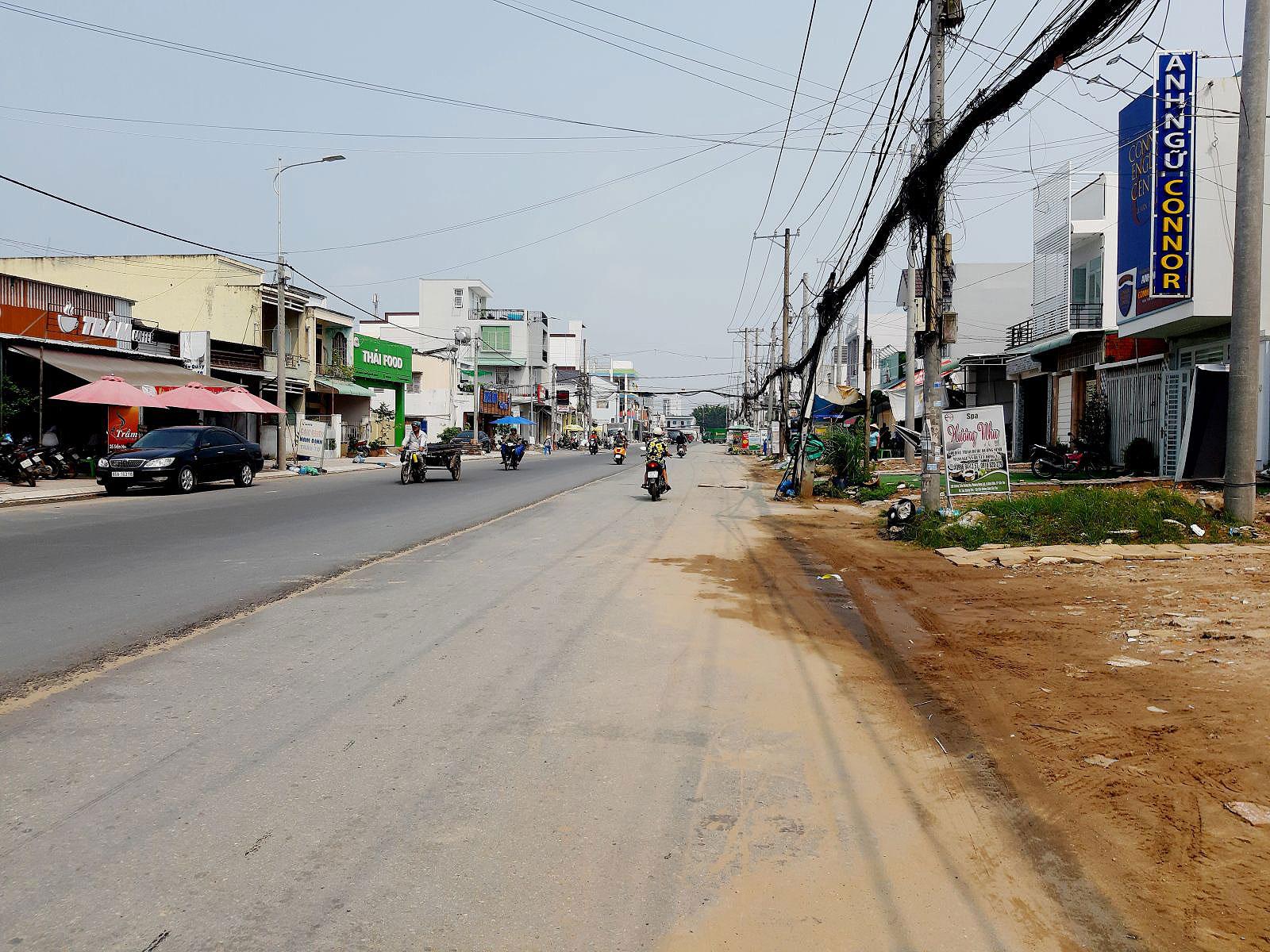 Dự án đường Trần Hoàng Na.
