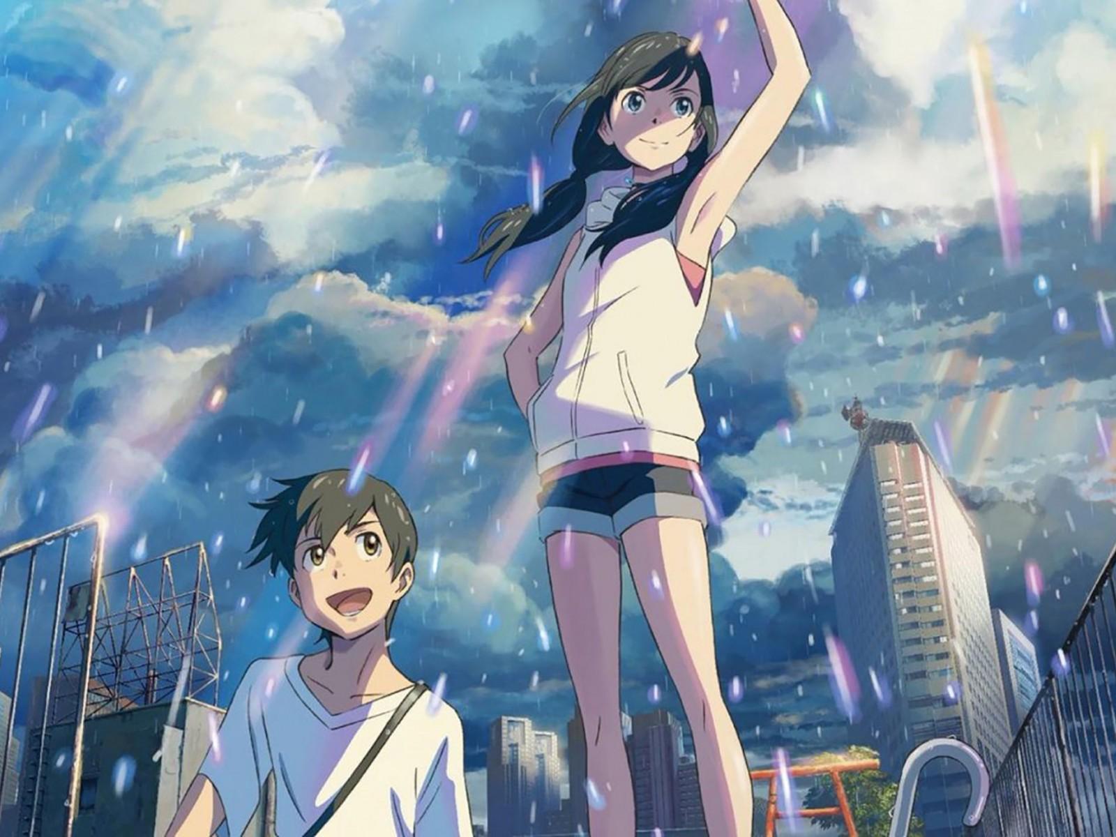 """""""Weathering With You"""", một trong những phim mang về doanh thu phòng vé cao cho Nhật năm 2019."""