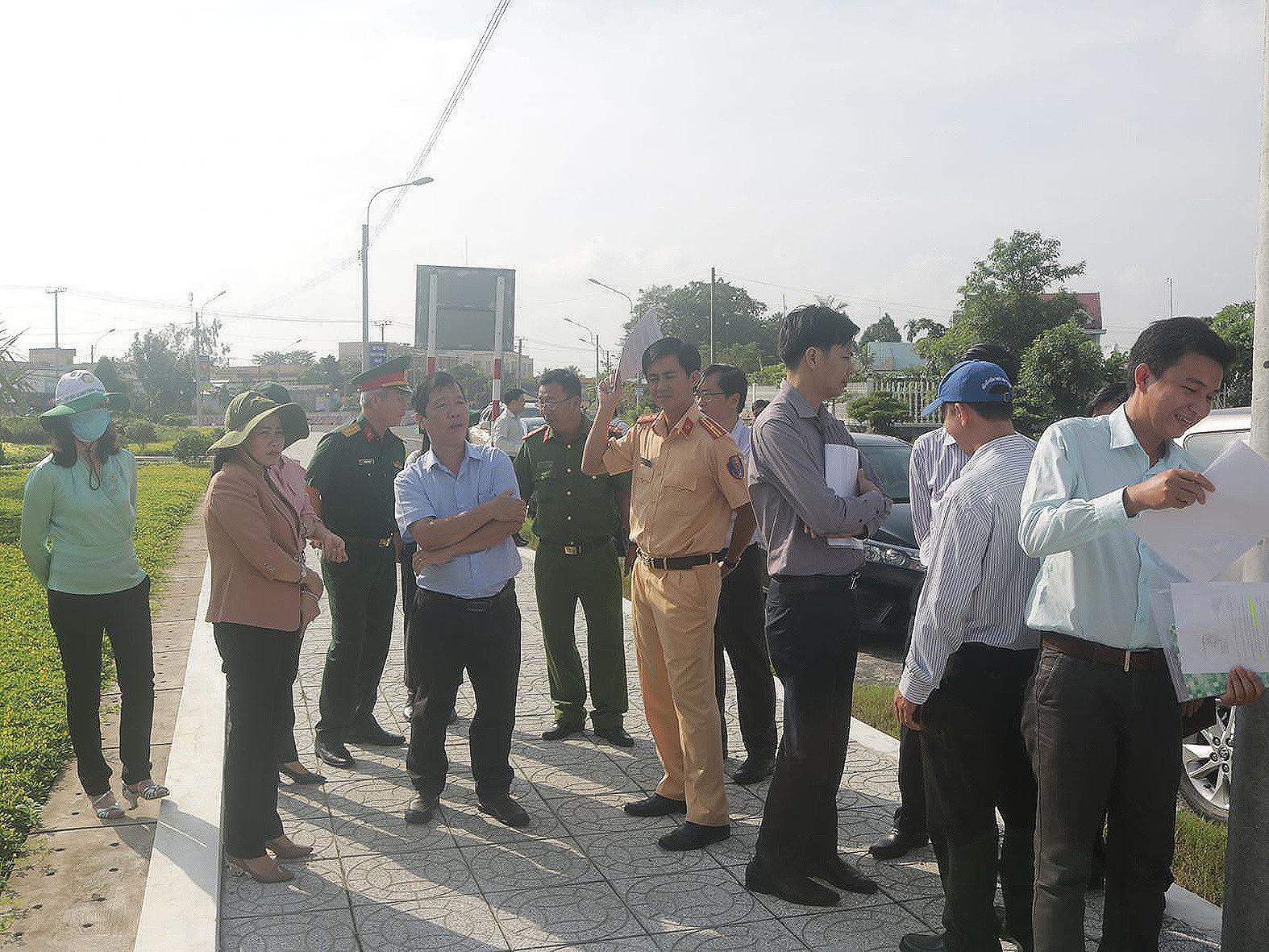 Ban Pháp chế HĐND thành phố khảo sát thực tế tại quận Thốt Nốt.
