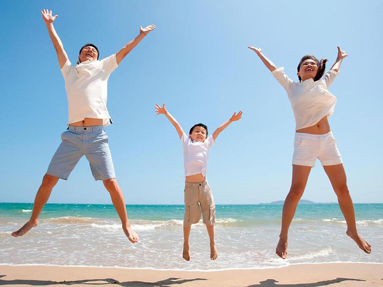 Tinh thần lạc quan cũng tốt cho hệ miễn dịch và chức năng phổi. Ảnh: newsbeezer