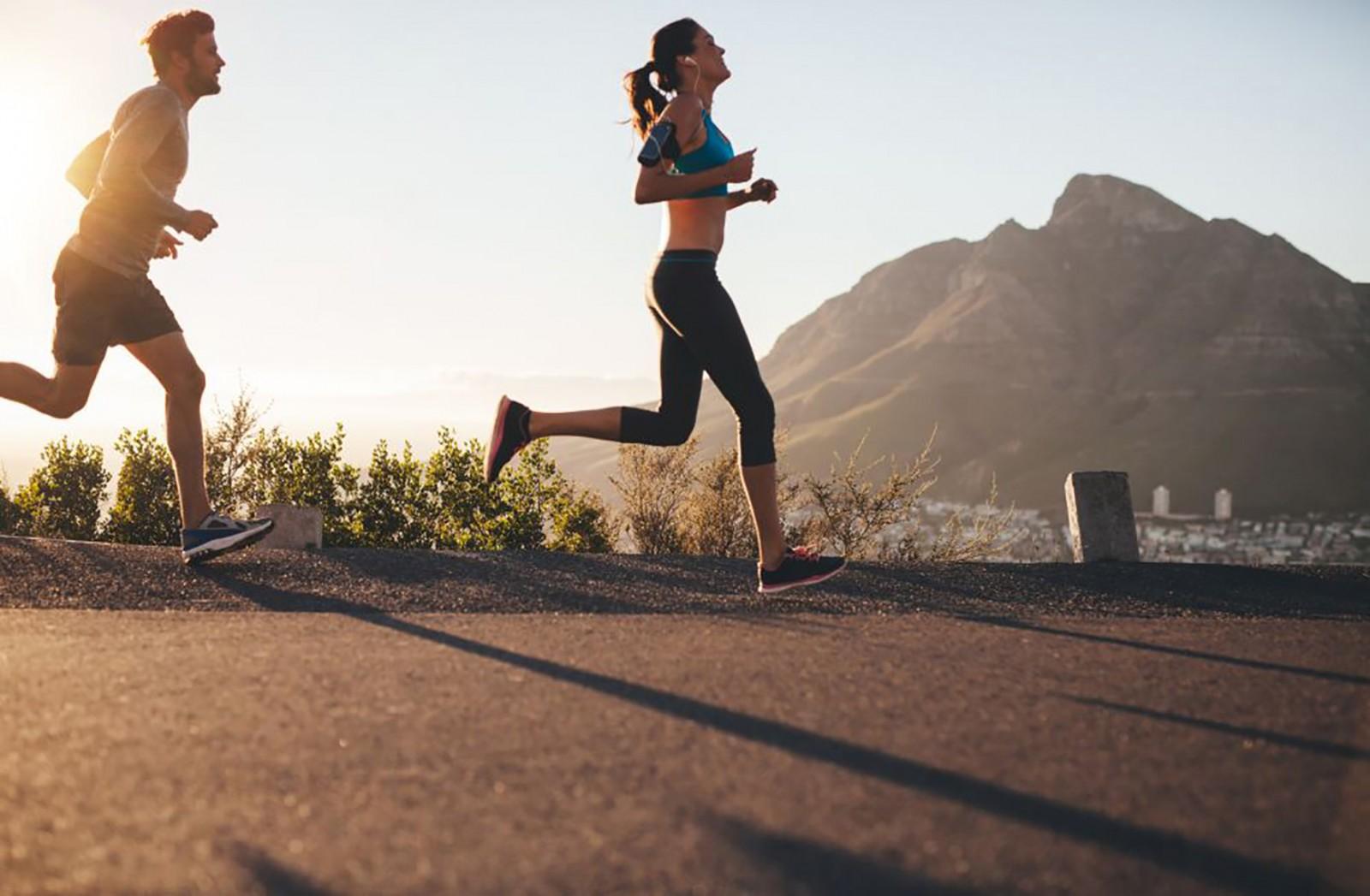 Tiếp xúc tia UVB liều lượng thấp giúp cải thiện môi trường vi khuẩn đường ruột. Ảnh: runningmagazine.ca