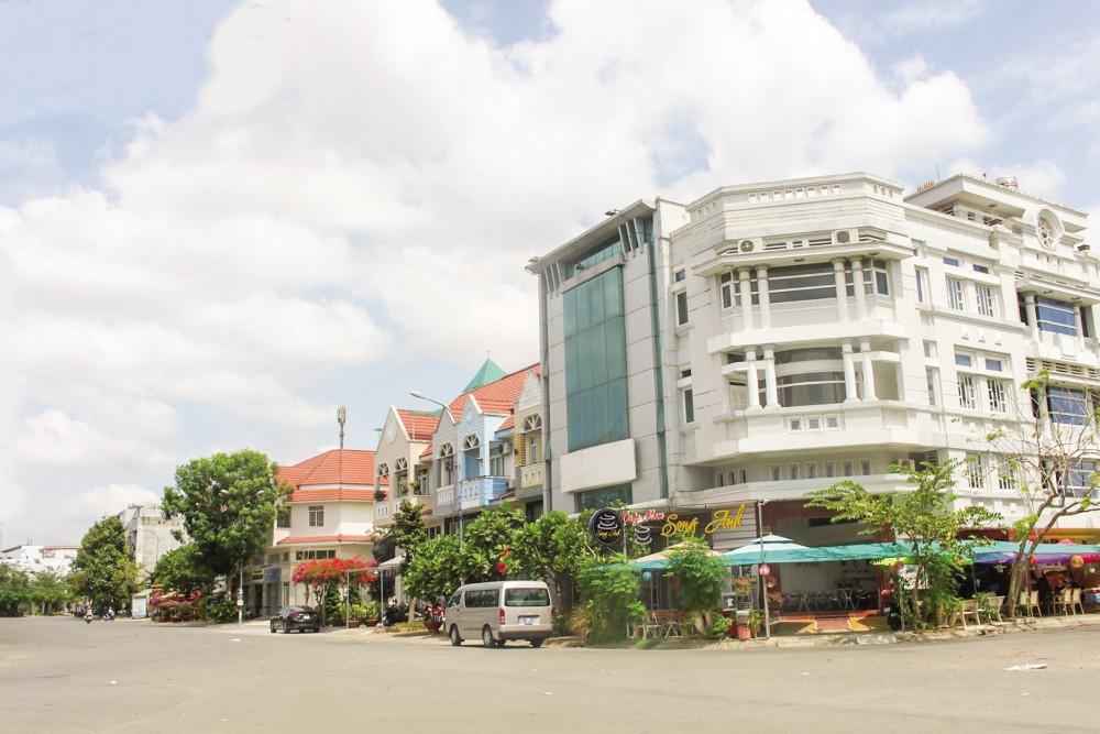 Khu đô thị Nam Cần Thơ được đầu tư khang trang, hiện đại.