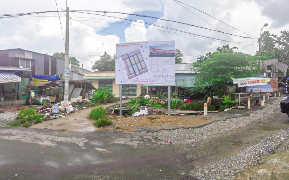Hiện trạng Khu đô thị mới huyện Thới Lai trước khi triển khai dự án.