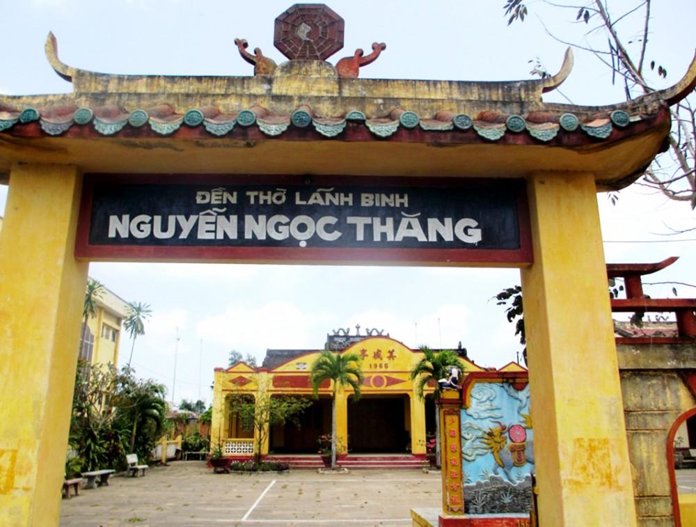 Đền thờ Lãnh Binh Nguyễn Ngọc Thăng.