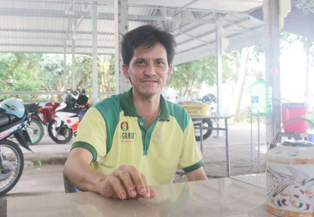 Anh Nguyễn Thanh Liêm - ông chủ quán ăn 0 đồng.