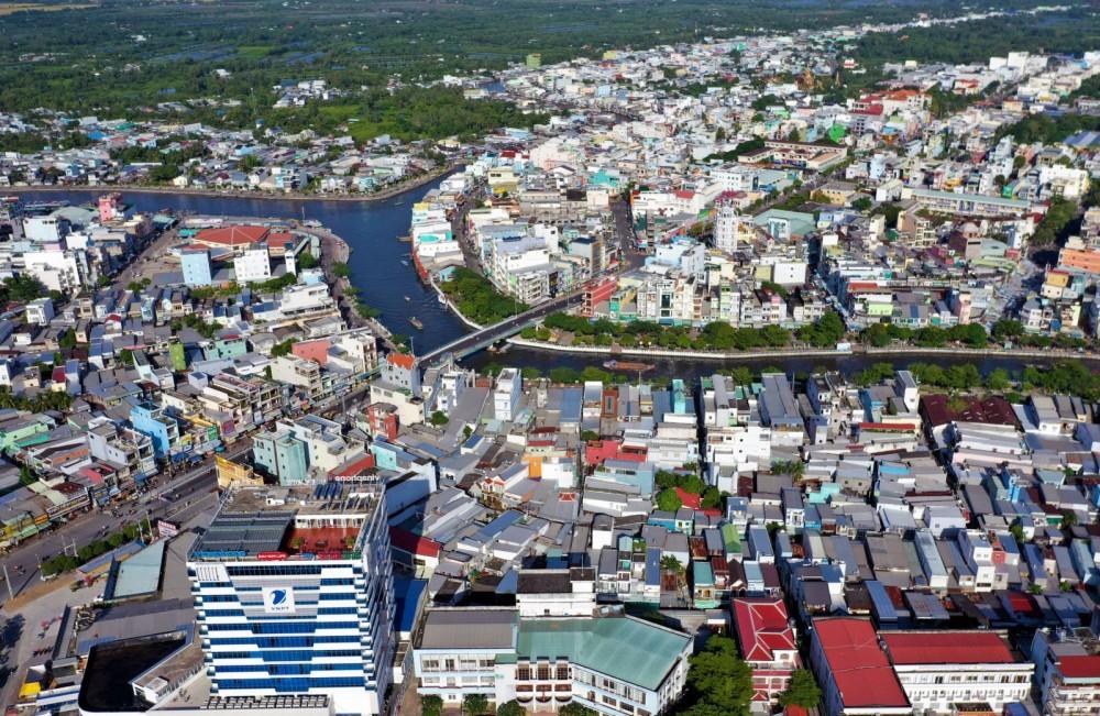 TP Cà Mau phấn đấu trở thành đô thị loại 1 trong tương lai gần.
