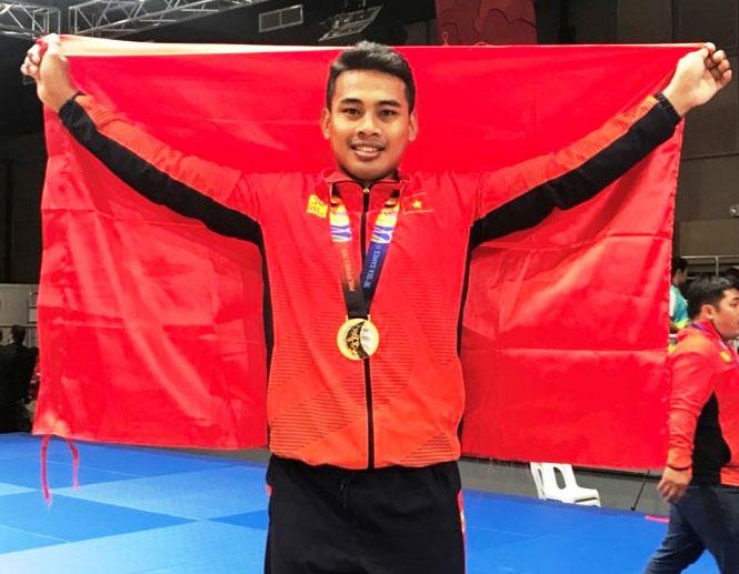 Võ sĩ Kurash Trần Thương làm rạng danh thể thao Bạc Liêu với tấm HCV tại SEA Games 30.