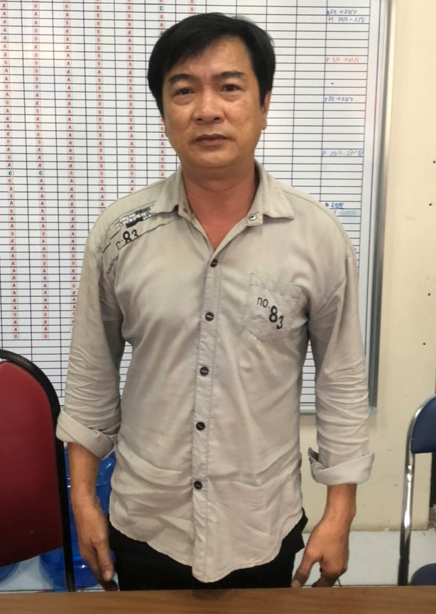 Đối tượng Từ Thanh Phong. Ảnh do Công an cung cấp.