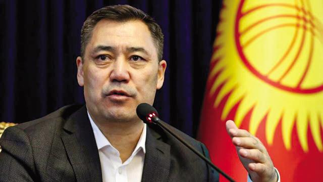 Thủ tướng Kyrgyzstan Sadyr Japarov