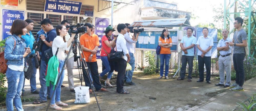 Các nhà báo tham gia một lớp nghiệp vụ do Hội Nhà báo TP Cần Thơ tổ chức. Ảnh: DUY KHÔI
