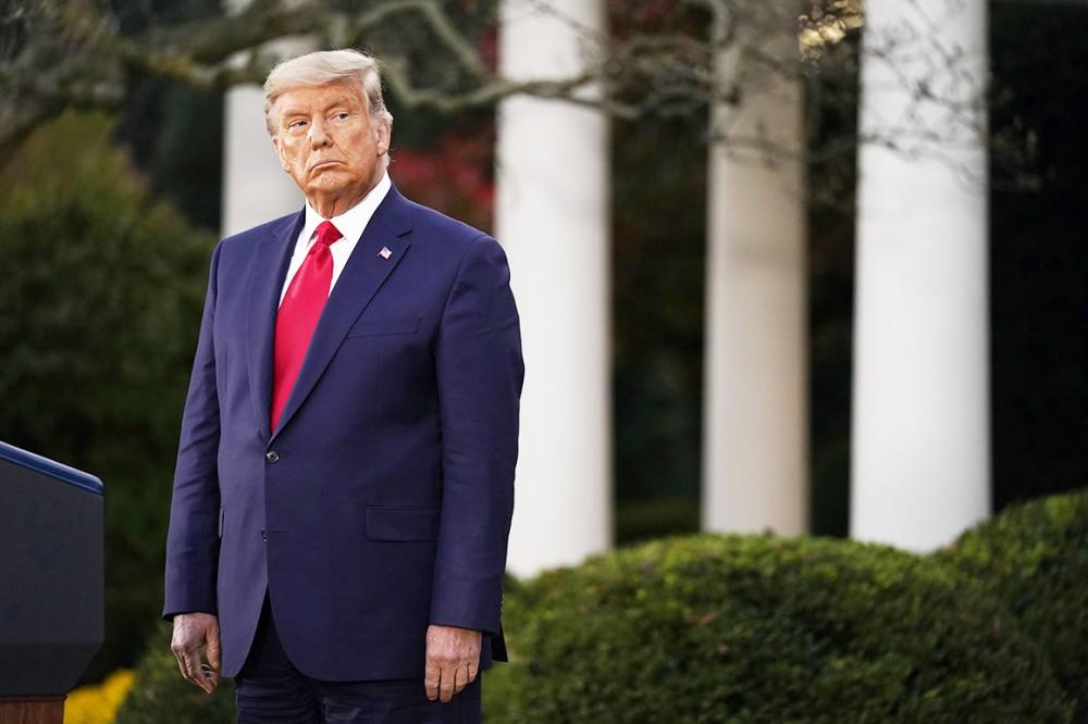Tổng thống Trump ngày càng đơn độc trong cuộc chiến pháp lý. Ảnh: AP