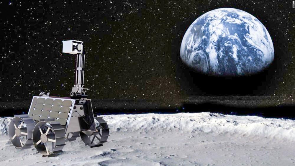 Sau sứ mệnh xe tự hành Rashid, UAE sẽ đưa người lên Mặt trăng. Ảnh: CNN