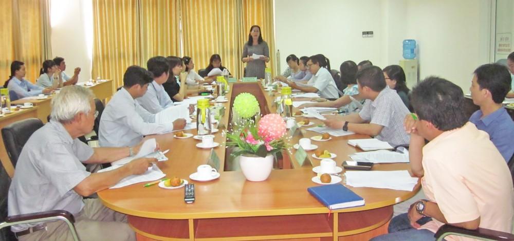 Hội thảo mời gọi các cơ sở GDNN tham gia dạy nghề cho NLĐ theo chính sách BHTN do Trung tâm DVVL thành phố tổ chức.