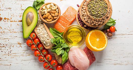 Thực phẩm tăng cường miễn dịch. Ảnh: iStock