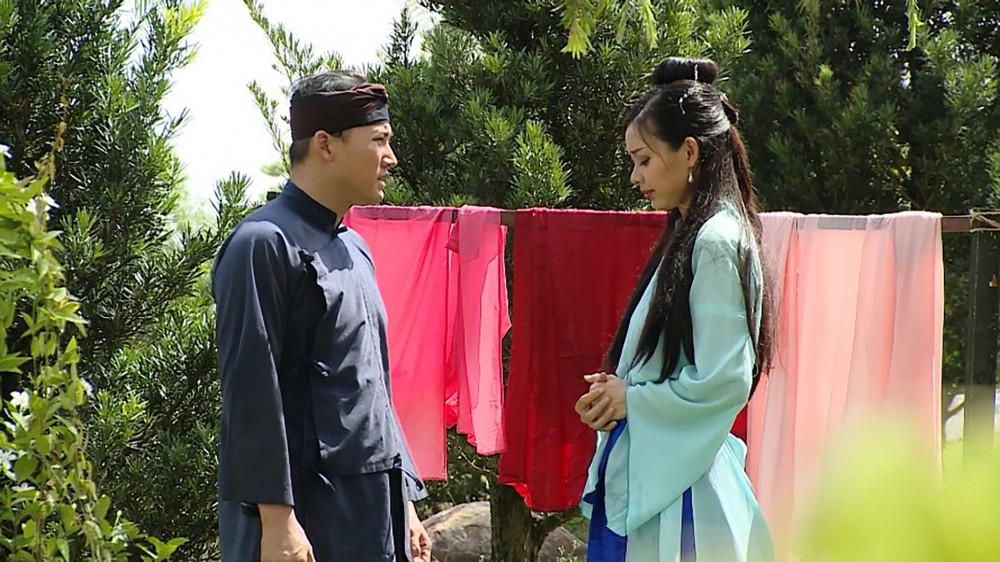 Lộc (Hà Trí Quang, trái) trong phim.