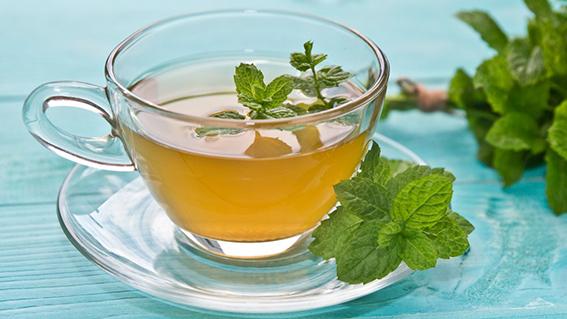 Trà bạc hà là thức uống tăng cường miễn dịch an toàn và hiệu quả. Ảnh: The List