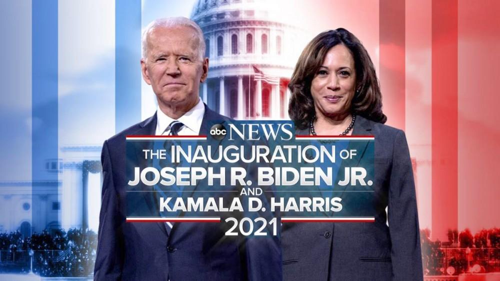 Ông Biden và bà Harris sẽ nhậm chức vào hôm nay. Ảnh: ABC News
