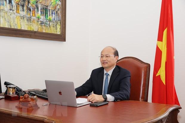 Đại sứ Việt Nam Lê Dũng. Ảnh: TTXVN
