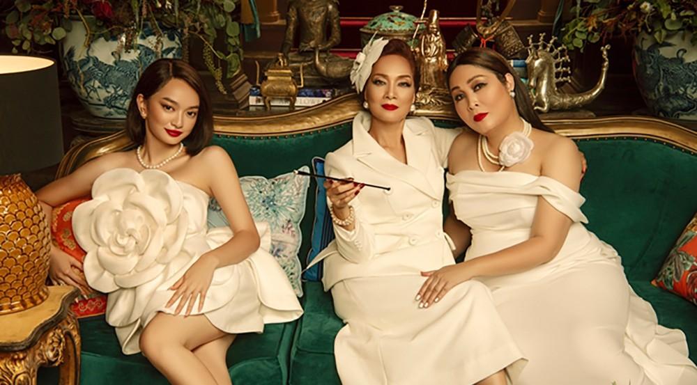 Ba chị em họ Lý trong phim.