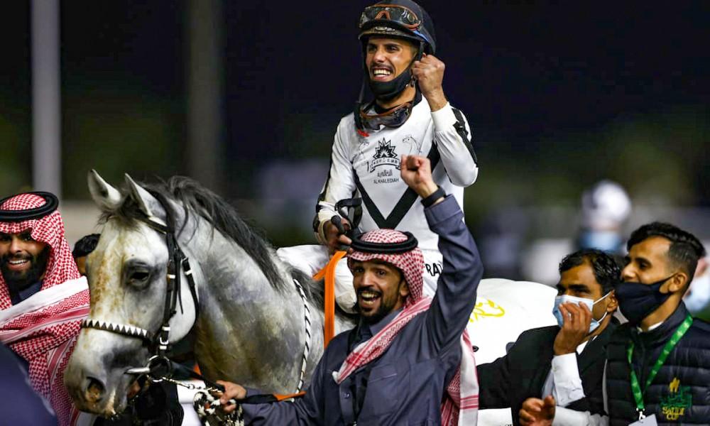 Saudi Arabia đã tổ chức cuộc đua ngựa đắt đỏ nhất lịch sử hồi tháng 2-2020. Ảnh: Getty Images