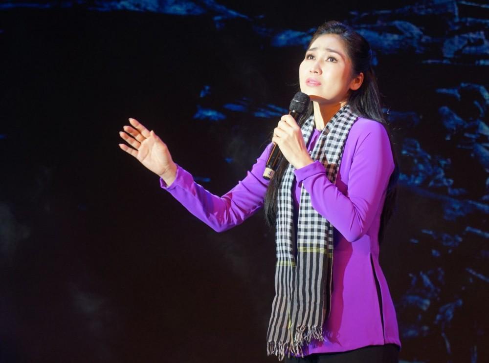 Nghệ sĩ Như Huỳnh.