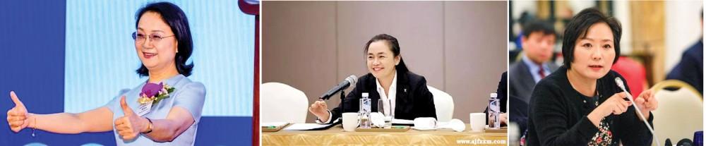 Từ trái sang: Zhong Huijuan, Fan Hongwei và Wu Yajun.
