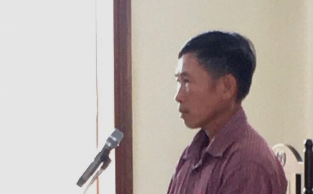 Bị cáo Đào Minh Chí tại phiên tòa phúc thẩm.