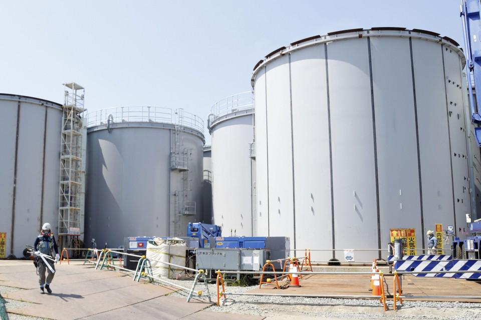 Toàn bộ quá trình xả nước từ nhà máy Fukushima ra biển dự kiến kéo dài nhiều thập niên. Ảnh: Kyodo News