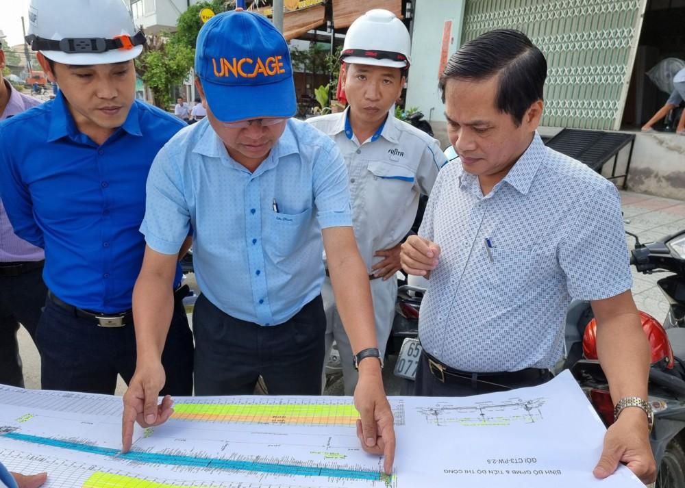 Lãnh đạo TP Cần Thơ kiểm tra công trình đường nối đường Cách mạng Tháng 8 đến đường tỉnh 918.
