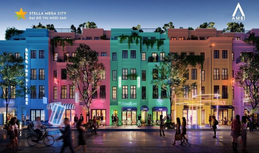 Nhà phố thương mại (shophouse) và nhà phố liền kề (townhouse) với thiết kế hiện đại, tích hợp hệ thống tiện ích đẳng cấp và cảnh quan thiên nhiên độc đáo.