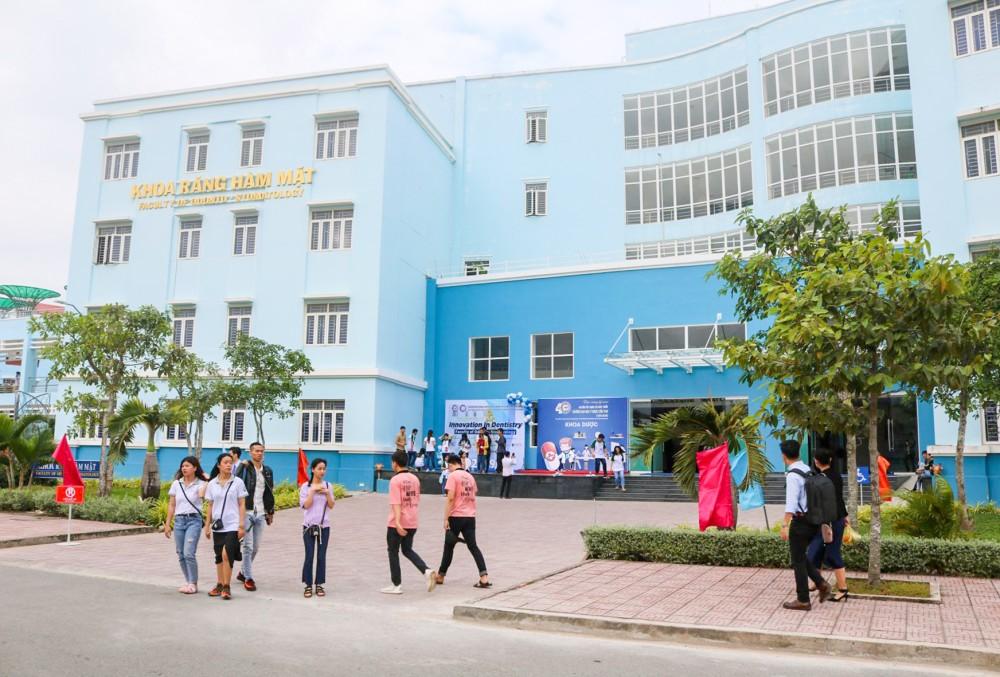Một góc Trường Đại học Y Dược Cần Thơ.