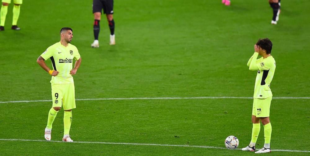 Từ chỗ được đánh giá là ứng viên số một cho ngôi vô địch La Liga mùa này, Atletico Madrid bất ngờ thi đấu yếu kém. Ảnh: eurosport