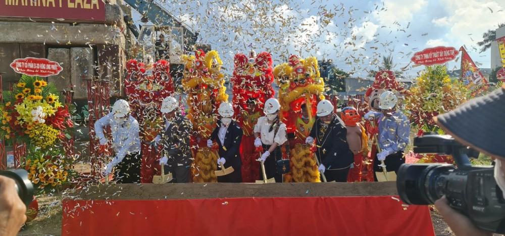 Lễ khởi công xây dựng Chung cư Thiên Quân Marina Cần Thơ