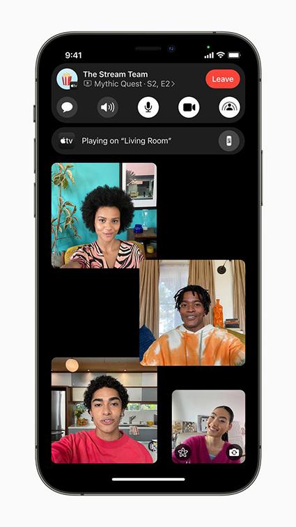 Ứng dụng FaceTime có nhiều cải tiến quan trọng trên iOS 15.