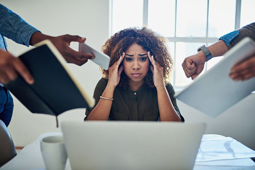 Căng thẳng tinh thần có hại cho làn da nhiều hơn bạn tưởng.