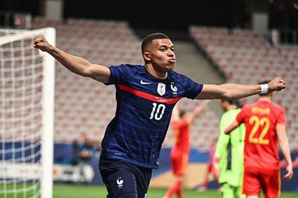 Với tốc độ và kỹ thuật, Kylian Mbappe được kỳ vọng giúp Pháp chinh phục EURO 2020. Ảnh: Getty