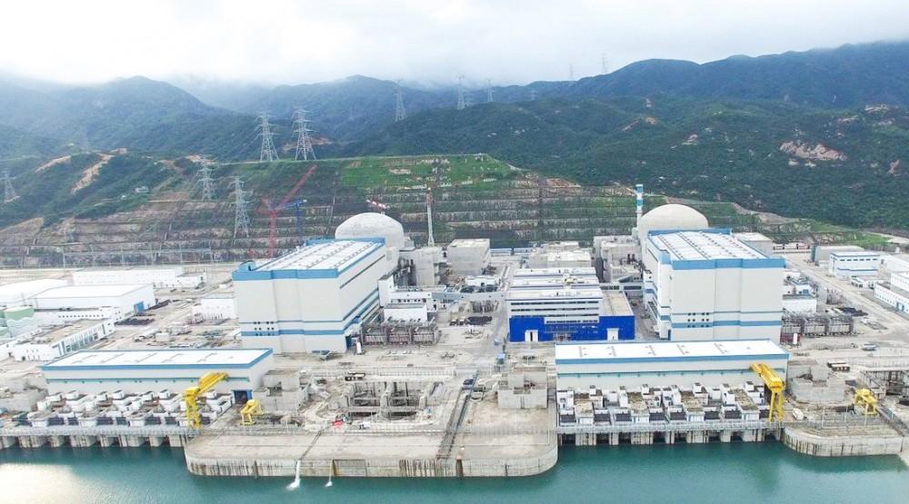 Nhà máy điện hạt nhân Đài Sơn.