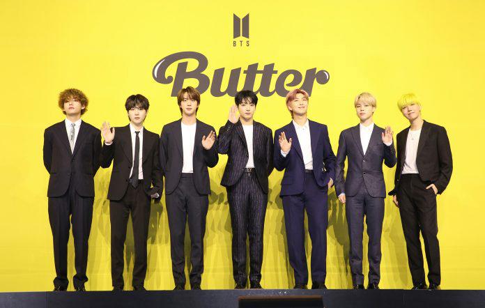 Nhóm nhạc Hàn Quốc BTS.