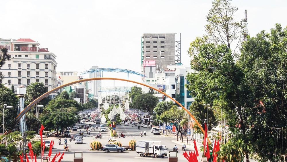 Sở Kế hoạch và Đầu tư đang triển khai lập Quy hoạch TP Cần Thơ thời kỳ 2021-2030, tầm nhìn đến năm 2050. Trong ảnh: Một góc đô thị Cần Thơ.