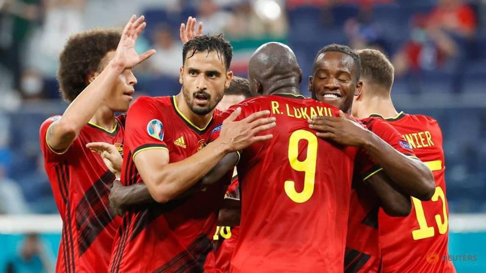 Lukaku (số 9) và đồng đội sẽ đưa Bỉ vượt qua chướng ngại Bồ Đào Nha? Ảnh: Reuters