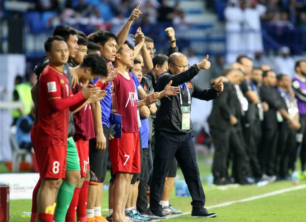 Thầy trò HLV Park Hang-seo xuất sắc vượt qua vòng loại thứ hai World Cup 2022 khu vực châu Á. Ảnh: ANH HUY.