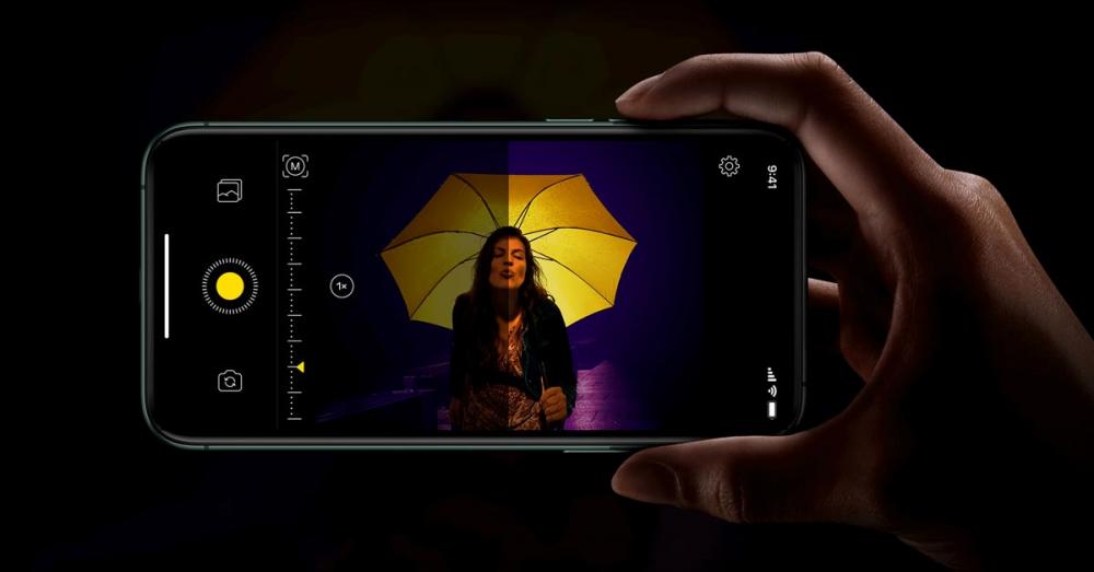 Điện thoại iPhone 12 với tính năng Night Mode chụp đêm nổi bật.