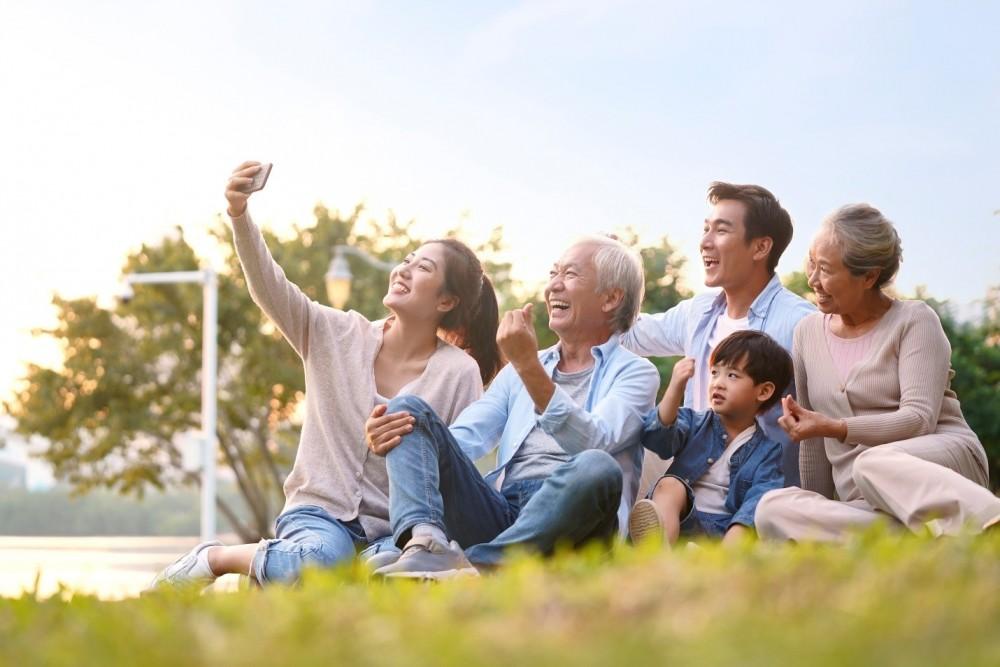 """Phân khu Vượng Gia - Happy Home kiến tạo không gian sống """"hưởng trọn tinh hoa"""" cho gia đình đa thế hệ."""