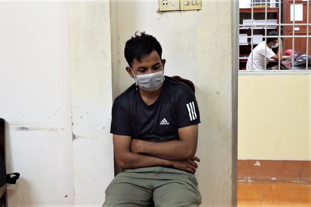 Tô Liêm - một trong những người vừa bị cơ quan chức năng TP Cà Mau xử phạt.