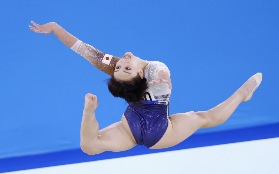 Vận động viên thể dục dụng cụ Nhật Bản Murakami dù giành huy chương đồng nhưng vẫn nhận nhiều bình luận tiêu cực. Ảnh: Kyodo