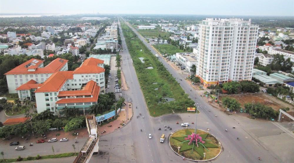 Nhiều dự án khu đô thị, dân cư ở Khu Nam Cần Thơ, do Sở Xây dựng quản lý đã hoàn thành.