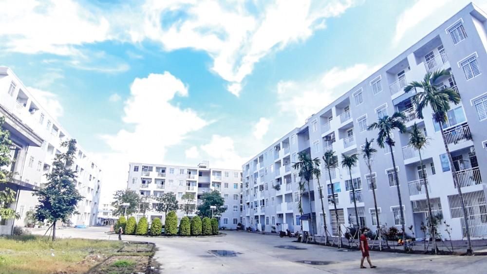 Khu nhà ở xã hội Gia Phúc ở quận Bình Thủy do Công ty Caseamex làm chủ đầu tư.