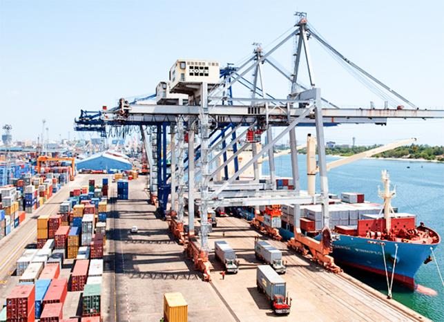 Cảng Kampala (Uganda), nơi Trung Quốc rót vốn đầu tư xây dựng. Ảnh: Orissapost