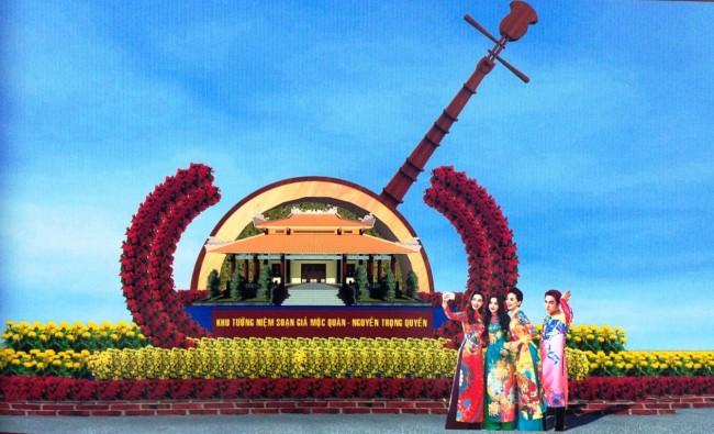Phác họa Khu tưởng niệm soạn giả Mộc Quán- Nguyễn Trọng Quyền (Thốt Nốt). Ảnh: PV